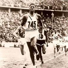 John Woodruff gold Olympicn