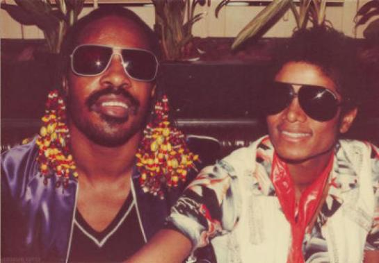 Stevie Wonder and Michael Jackson both have Grandparents  they visted often who lived in East Chicago, Indiana six blocks apart.